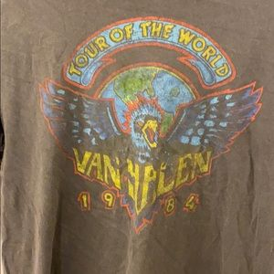 Van Halen Tour of the World shirt
